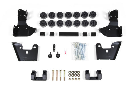 "Zone Offroad - 3.5"" Combo Lift Kit - 14-15 Chevy/GMC Silverado/Sierra (C1351) - EZ Wheeler"
