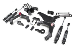 "Zone Offroad - 3"" Adventure Series (UCA) Lift System - 01-10 Chevy/GMC 2500/3500 (C31/C32) - EZ Wheeler"