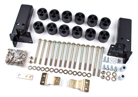 "Zone Offroad - 2"" Body Lift Kit - 07-10 Chevy/GMC (ZONC9251) - EZ Wheeler"
