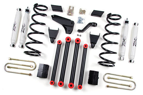 "Zone Offroad - 5"" Suspension System - 10-12 Dodge 2500/3500 (D16/D17/D18) - EZ Wheeler"