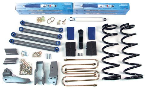 "BDS Suspension - 3"" Suspension Lift Kit - Dodge 1500 w/ Offroad Package - EZ Wheeler"