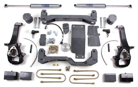 "BDS Suspension - 4"" Suspension Lift Kit - 06-08 Dodge 1500 - EZ Wheeler"