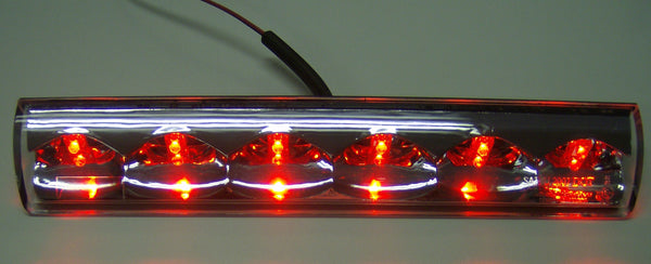 American Tech - Truck Cap Third Brake Light Clear lens Red LED (36R01) - EZ Wheeler