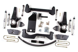 "Zone Offroad - 6"" Suspension System Lift Kit - 97-03 Ford F150 (F14) - EZ Wheeler"