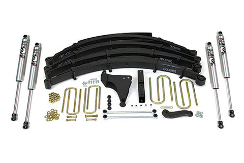 BDS Suspension - Lift Kit - 99-04 F250/350 Square 6/4.5 w/Overload - EZ Wheeler