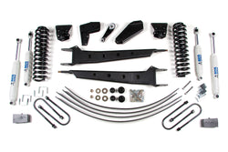 "BDS Suspension - 4"" Radius Arm Lift Kit - 80-96 Ford Bronco 4WD - EZ Wheeler"