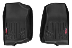 Rough Country - Heavy Duty Floor Mats [Front] - (18-19 Jeep JL Wrangler)(M-6150)