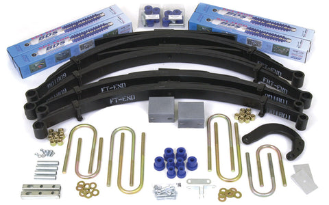 BDS Suspension - Lift Kit - 73-76 1/2 ton PU/Blaz/Jim 8/8 Springs - EZ Wheeler