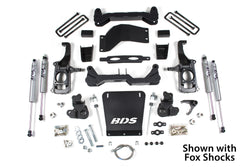 "BDS Suspension - 4.5"" Suspension Lift Kit - 11-17 Chevy 2500HD 2wd/4wd"