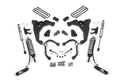 "BDS Suspension - 2-3"" Coilover Conversion Suspension Lift Kit - 11-17 Chevy/GMC 2500HD/3500HD - EZ Wheeler"