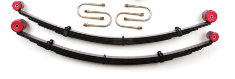 "Zone Offroad - 3"" Rear Leaf Springs Complete Kit - 84-01 Jeep XJ (J0308K) - EZ Wheeler"