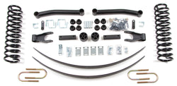 "Zone Offroad - 4.5"" Suspension System - 86-92 Jeep Comanche MJ (J29) - EZ Wheeler"