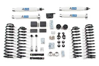 "BDS Suspension- Lift Kit - 2012-18 JK 2Dr 3"" Kit - EZ Wheeler"