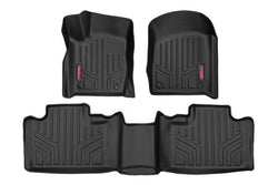 Rough Country - Heavy Duty Floor Mats [Front/Rear] - (13-19 Jeep Grand Cherokee WK2)(M-60300)