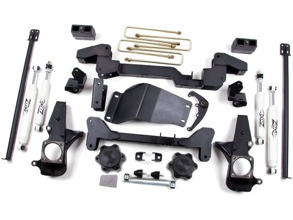 01-10 GM K2500 HD 6in Suspension System