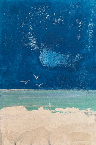 'Kelp Gulls' - Michele Batchelder.