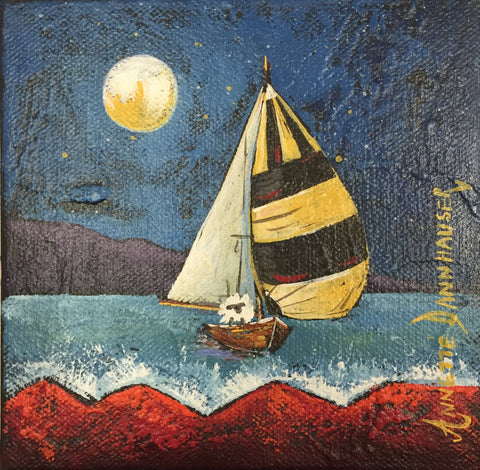 'Sailing by Moonlight' - Annetté Dannhauser