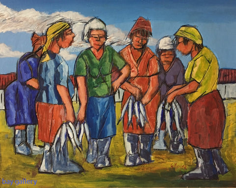 'Fresh Fish Sellers' - George Meyer.