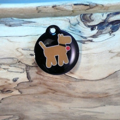 Walkies Orange Pet ID Tag