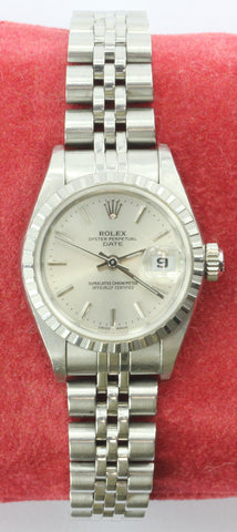 Ladies Rolex Date Oyster Perpetual 79240 Superalitve Chronometer Watch