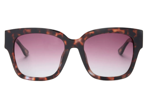 DIFF BELLA II WINE TORTOISE / WINE GRADIENT POLARIZED - Queen May