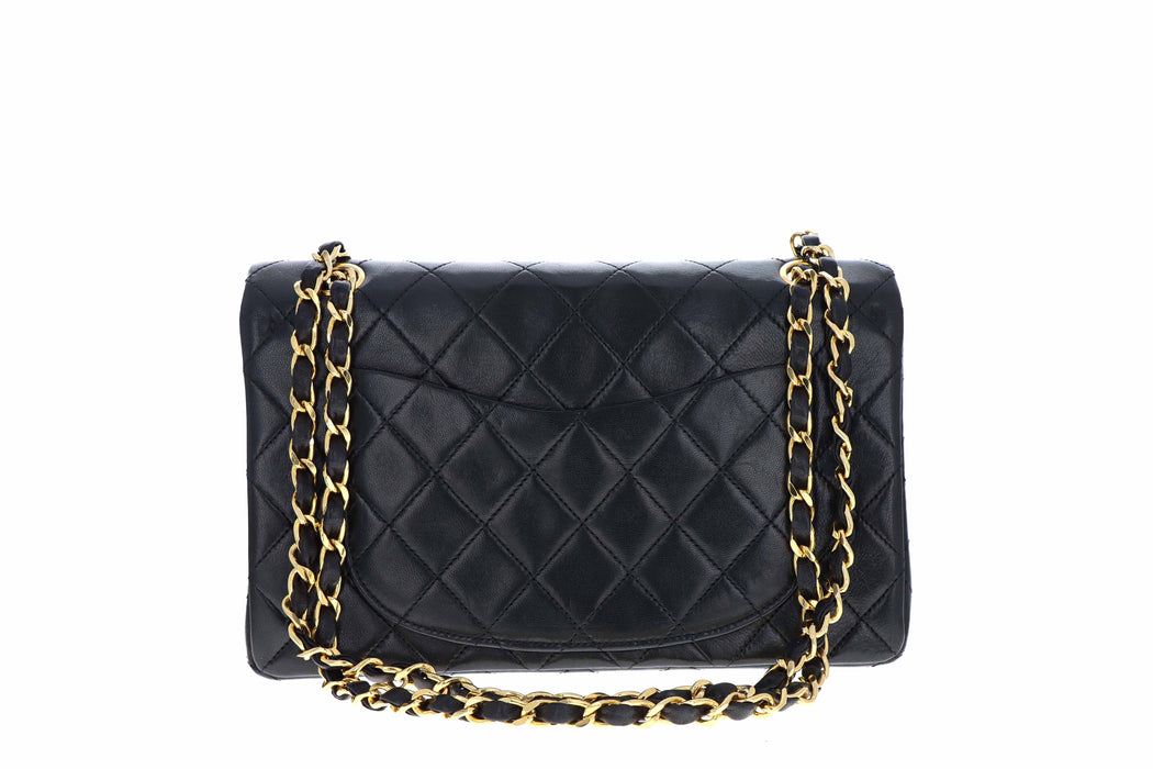 Vintage Chanel Small Double Flap Lambskin - Queen May