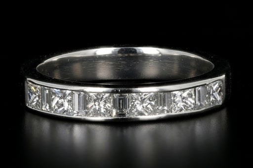 Platinum 1.36 Carat Diamond Band