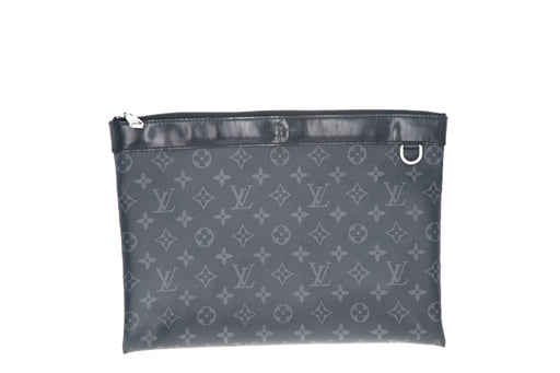Louis Vuitton Monogram Eclipse Pochette Voyage MM - Queen May