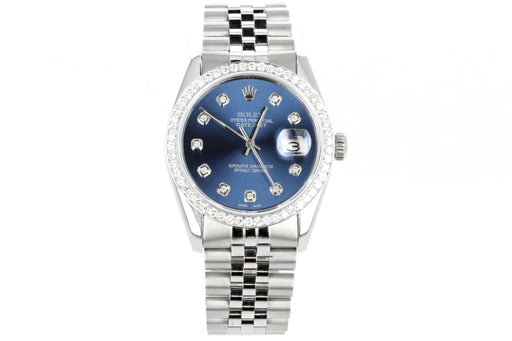 Rolex Datejust 16014 Diamond Dial and Bezel - Queen May