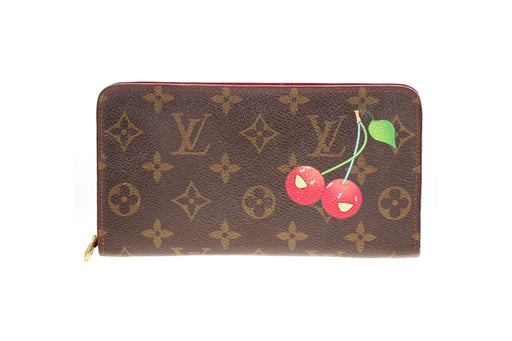 Louis Vuitton Monogram Cerises Porte-Monnaie Zippy Wallet - Queen May