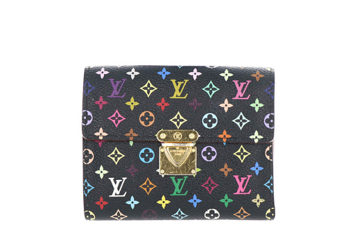 Louis Vuitton Black Multicolor Koala Wallet - Queen May