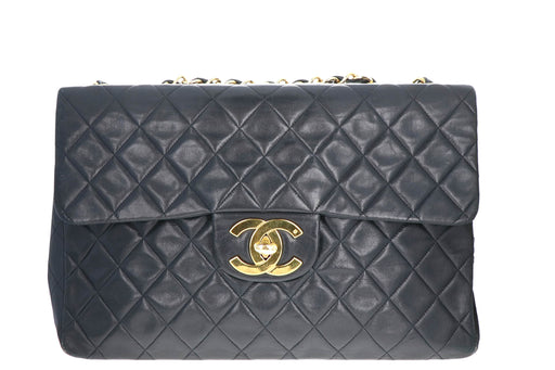 Vintage Chanel Classic Maxi Single Flap Bag - Queen May