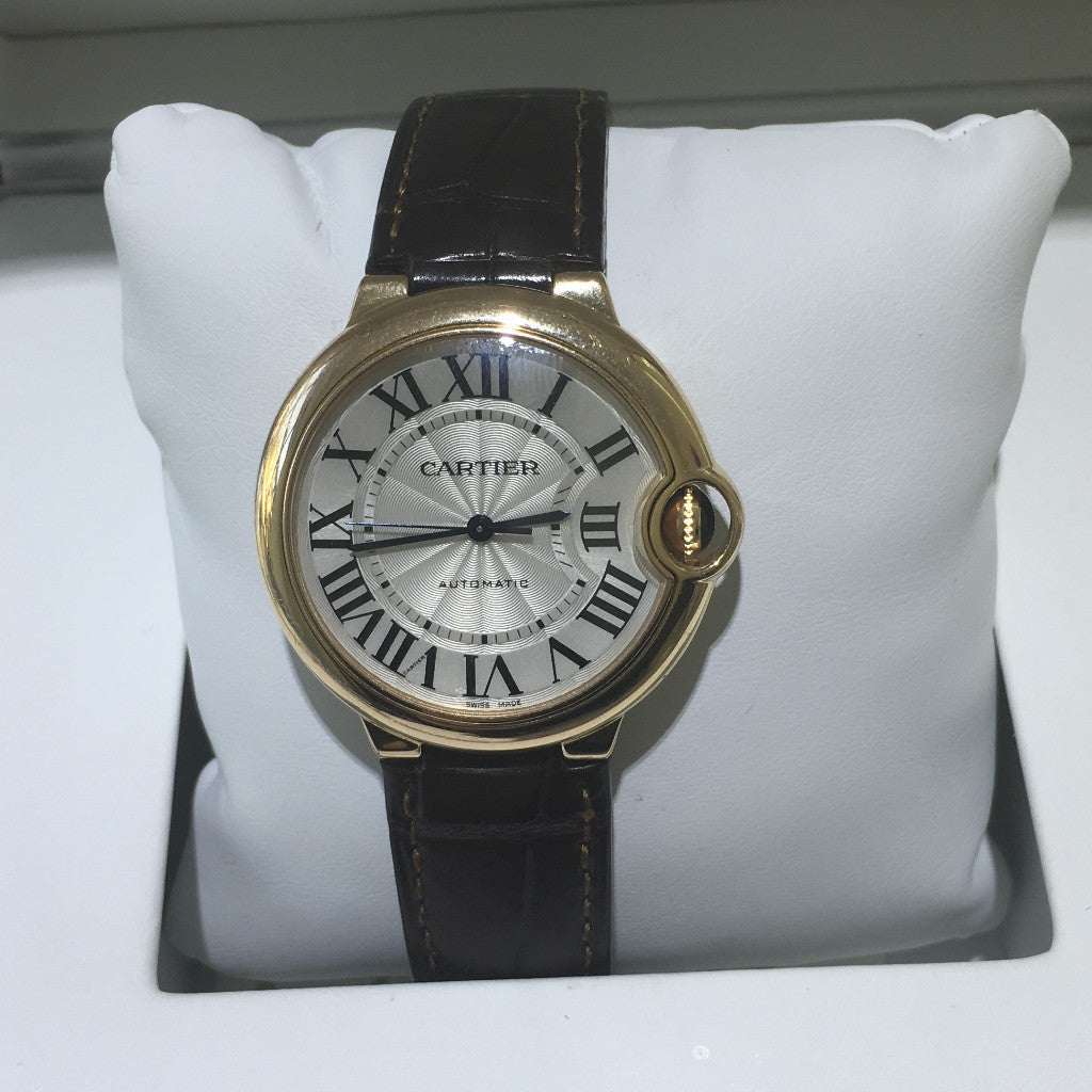 Cartier Ballon Bleu 18K Rose Gold 36mm Watch - Queen May
