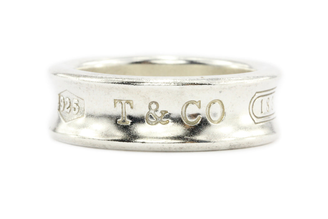 6b4b821f5 Tiffany 1837 Sterling Silver Band - Queen May ...