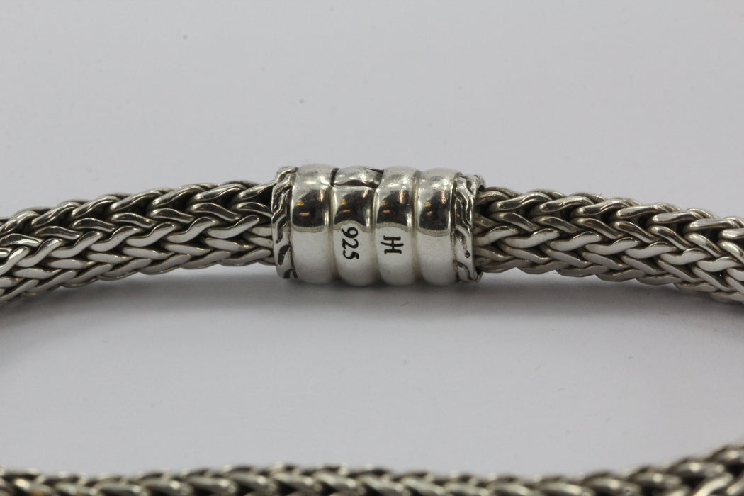 "John Hardy Sterling Silver Classic Chain Bracelet 7.75"" - Queen May"
