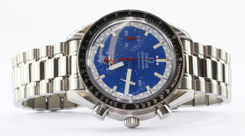 Omega Speedmaster Racing Schumacher Automatic Blue Kart Dial Chronograph Watch