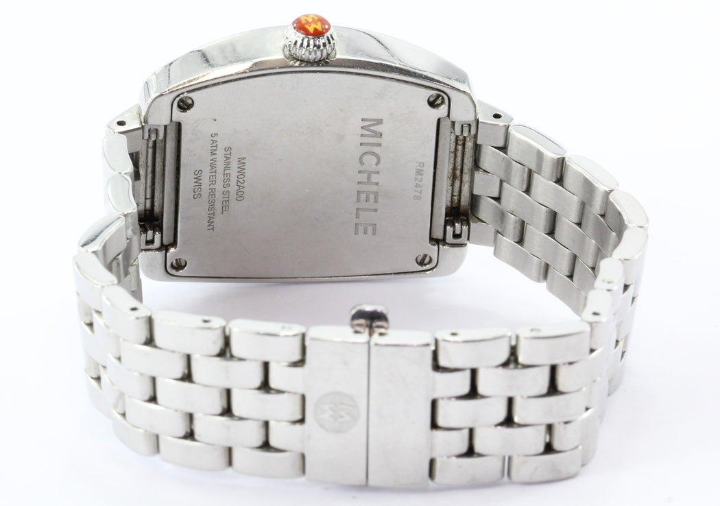 Michele MW02A00 Mini Urban Stainless Steel Swiss Watch #2 - Queen May