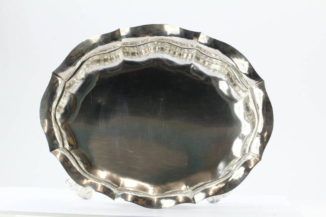 Buccellati Sterling Silver Hand Crafted Italian Fluted Bowl - Queen May