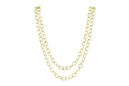 Temple St. Clair 18K Yellow Gold Classic Round Chain with Tags - Queen May