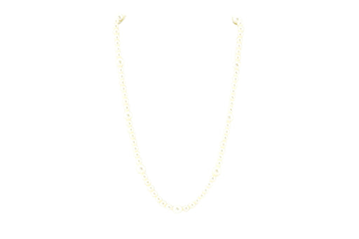 Tiffany & Co. Cultured Pearl and Sterling Silver Necklace - Queen May