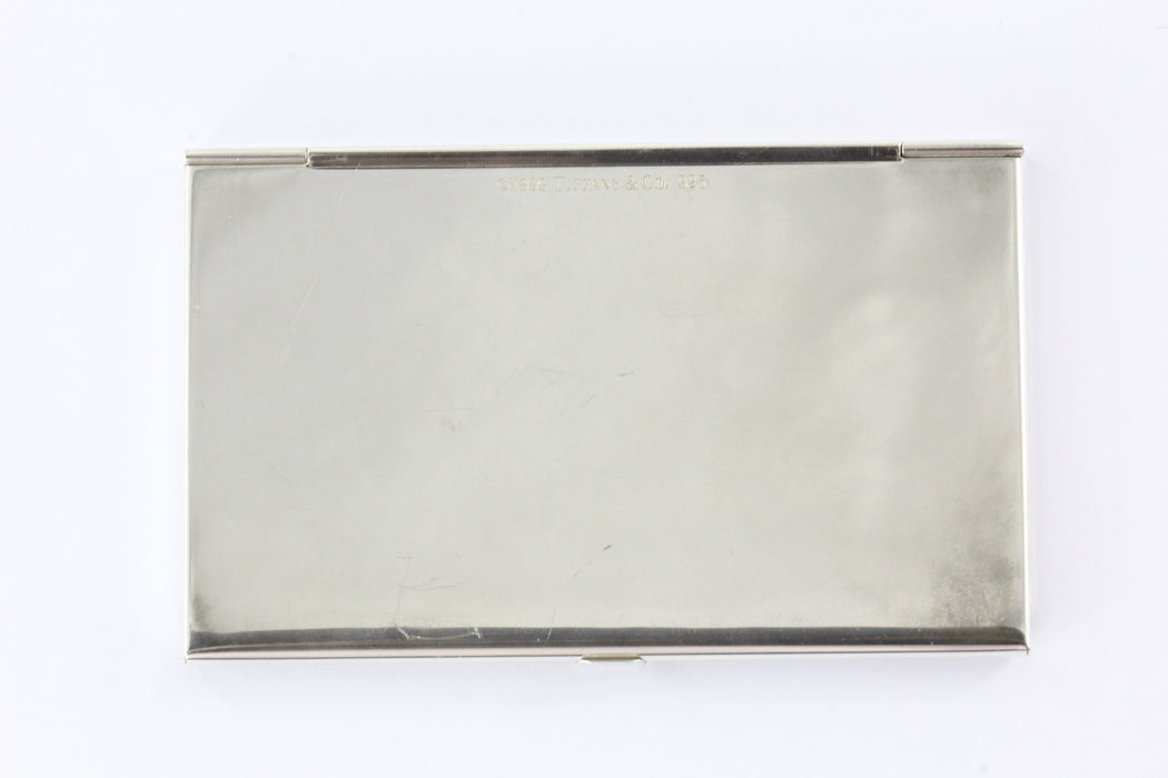 Tiffany co sterling silver 1837 business card holder card case no tiffany co sterling silver 1837 business card holder card case no monogram colourmoves