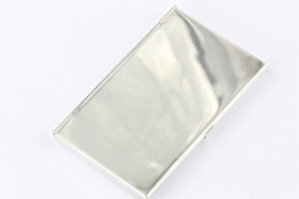 Tiffany & Co Sterling Silver 1837 Business Card Holder Card Case ...
