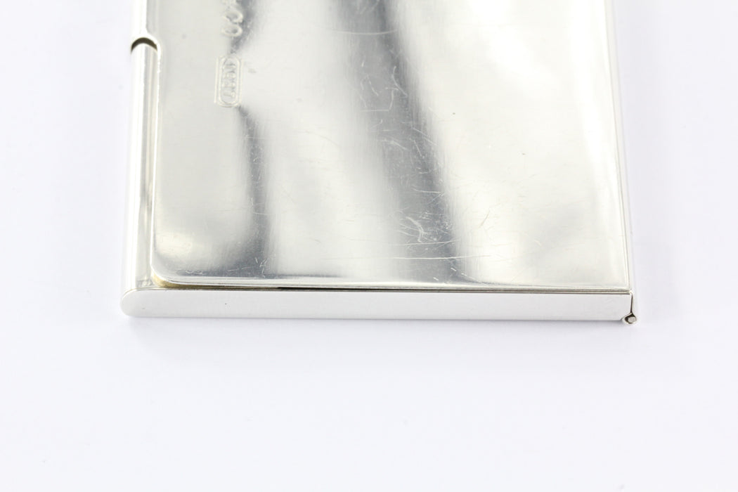 Tiffany co sterling silver 1837 business card holder card case no tiffany co sterling silver 1837 business card holder card case no monogram reheart Images