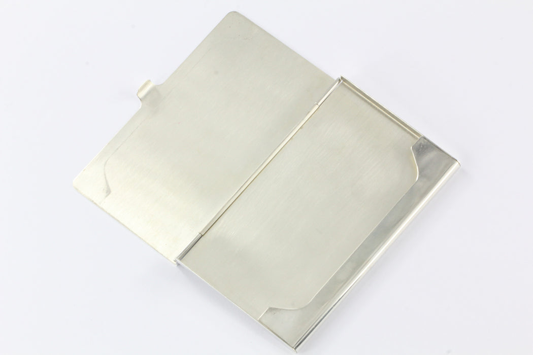 Tiffany & Co Sterling Silver 1837 Business Card Holder Card Case NO ...