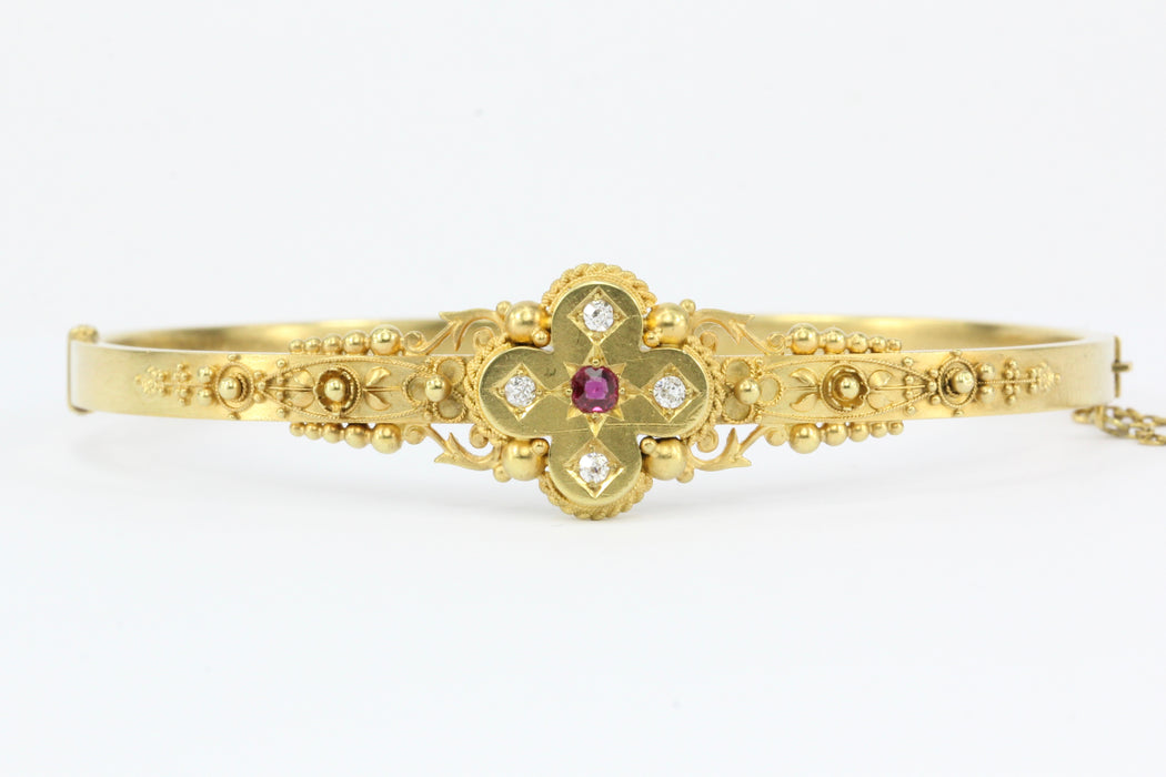 antique wilhem august j by holmstrom ruby very at yellow diamond id bracelet img rare gold faberge bangles bracelets and edwardian l bangle jewelry