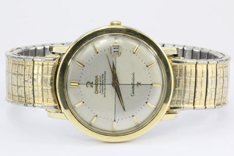 Omega Constellation Automatic Gold Tone 1963 Calendar Watch