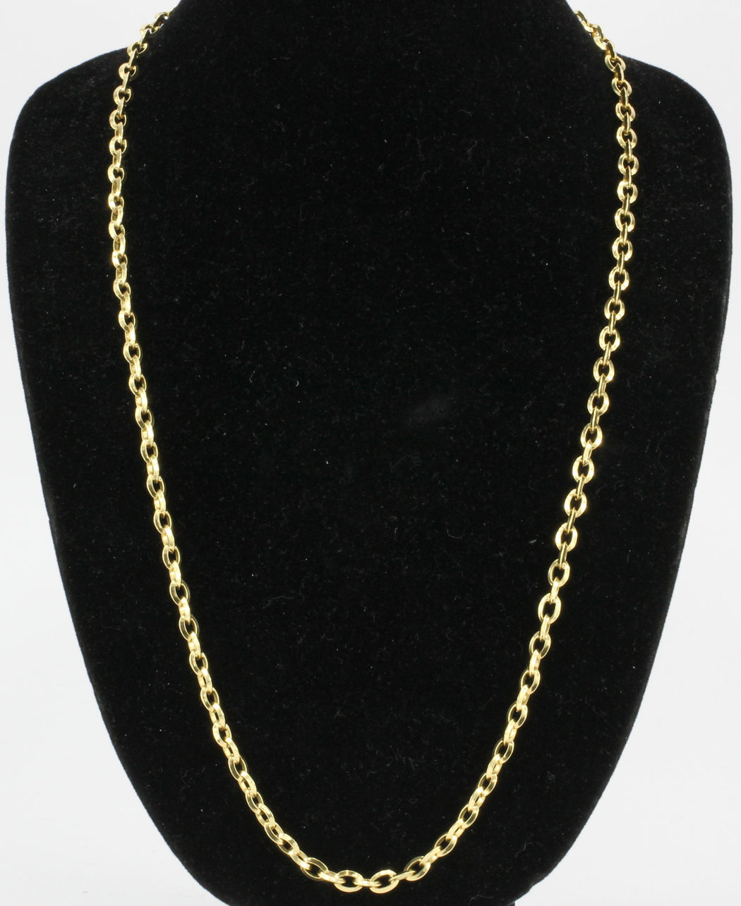 sterling necklace products link fine or feshionn silver in inches chain oval iobi belcher necklaces