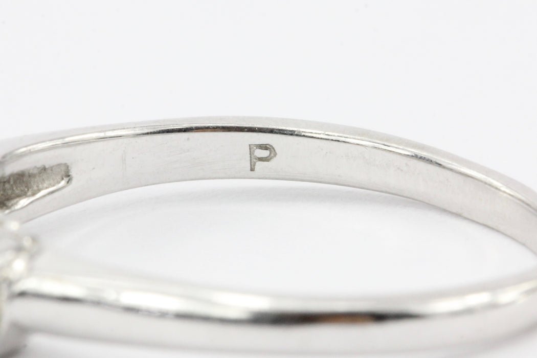 14K White Gold .55 CTW Diamond Band - Queen May