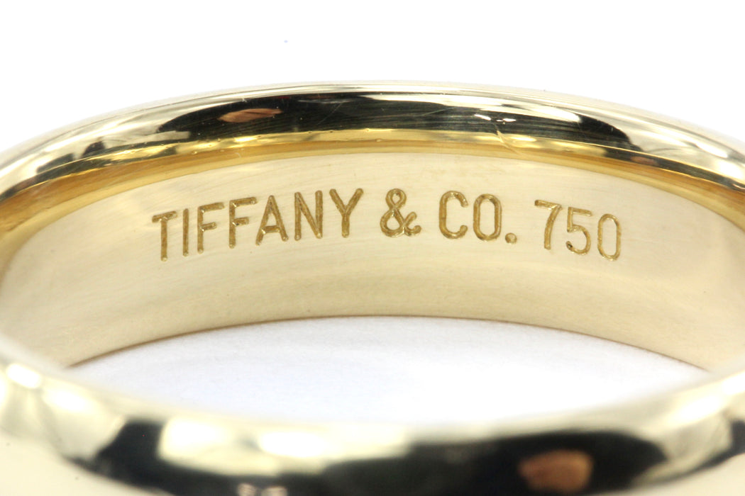 Tiffany & Co. Yellow Gold Wedding Band Size 9 - Queen May