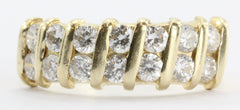 14K Gold .70 CTW Diamond Ring Band